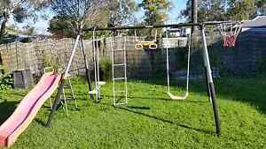 Swing set with basketball hoop Hemmant Brisbane South East Preview