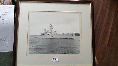 HMS Juno-  F52  framed photograph   ebay uk