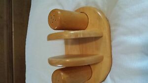 Salt - Pepper - Napkin Holder - Wood Kawartha Lakes Peterborough Area image 2