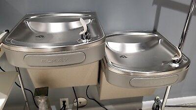 Elkay Bi-level Commercial Drinking Water Fountain New Modelezfstl81g