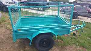 RENT A 6X4 CAGE TRAILERS @20 A DAY CHEAP RATES SACURE A BOOKING Kemps Creek Penrith Area Preview