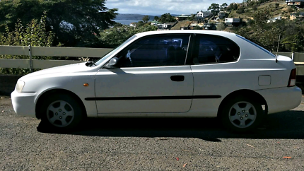 Hyundai accent 2002 rego until october Hobart CBD Hobart City Preview