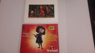 disneys the incredibles best buy lithograph - Buy The Incredibles