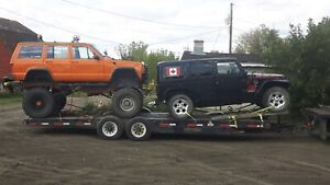 Project vehicle truck and trail towing Alberta