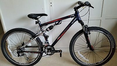 de36fd04809 Turbo R-26 ML710 6061 Full Suspension Mountain Bike (Size 43cm) Shimano  Suntour