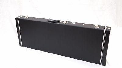 Eden Black Hard Shell Guitar Case for Strat & Tele