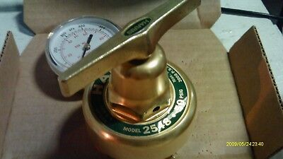 Harris 2548-50-14 Oxygen Service Welding Pressure Regulator 0-50 Psig Brass