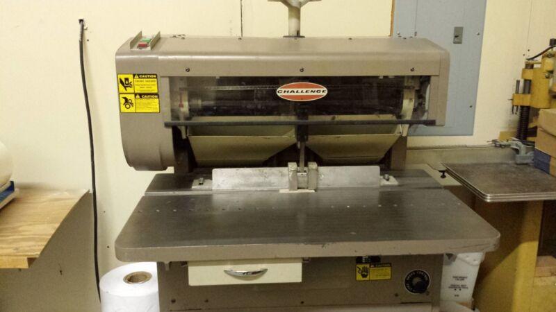 Challenge MS-10A Multi-Head Paper Drill