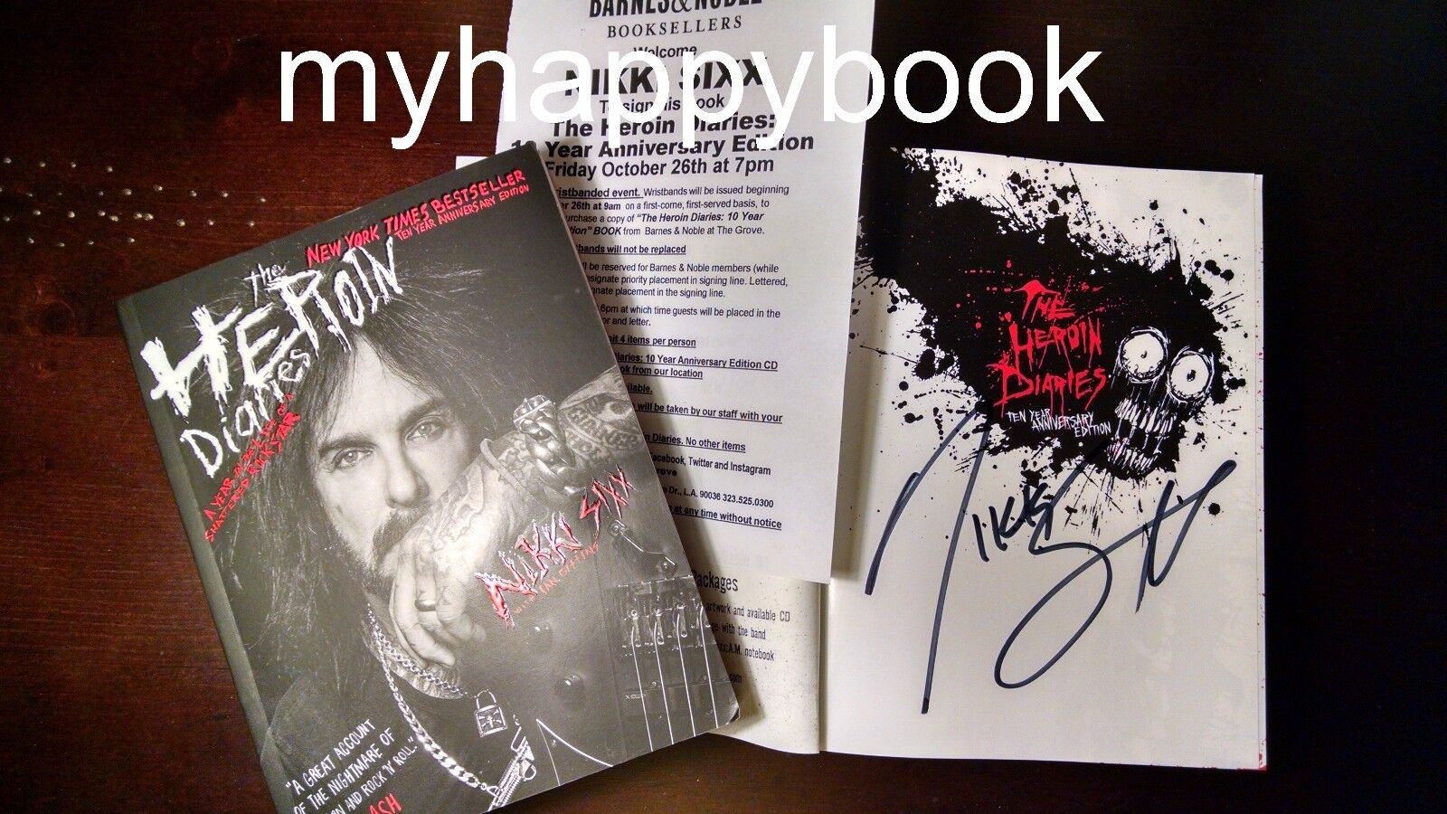 a review of the heroin diaries by nikki sixx John mcferrin reviews the career and works of the great  nikki sixx's the heroin diaries, will see new editions of the book and soundtrack.