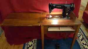 Vintage Singer 201K sewing machine and table Ashbury Canterbury Area Preview