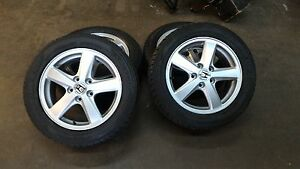HONDA ORIGINAL RIMS AND WINTER TIRES