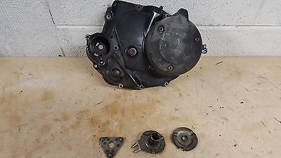 1986 YAMAHA MOTO 4 200 CLUTCH COVER WITH CLUTCH PARTS  YFM200     #1