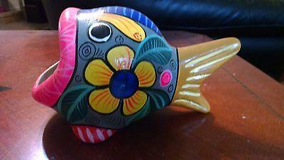 Sculptures Unique Hand Painted Tropical Fish