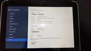HP ElitePad windows 8 tablet 64gb Wollongong Wollongong Area Preview
