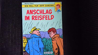 Jeff Jordan Nr 10, Anschlag im Reisfeld  Carlsen 1. Aufl 1988