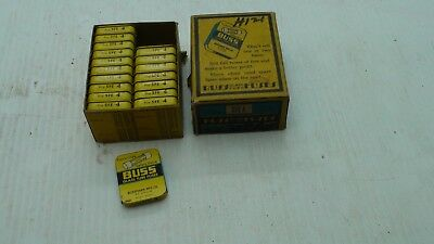 Buss Fuses Sfe 4 Amp Fuse Vintage Old New Stock Box Of 18 Packs Of 5 New