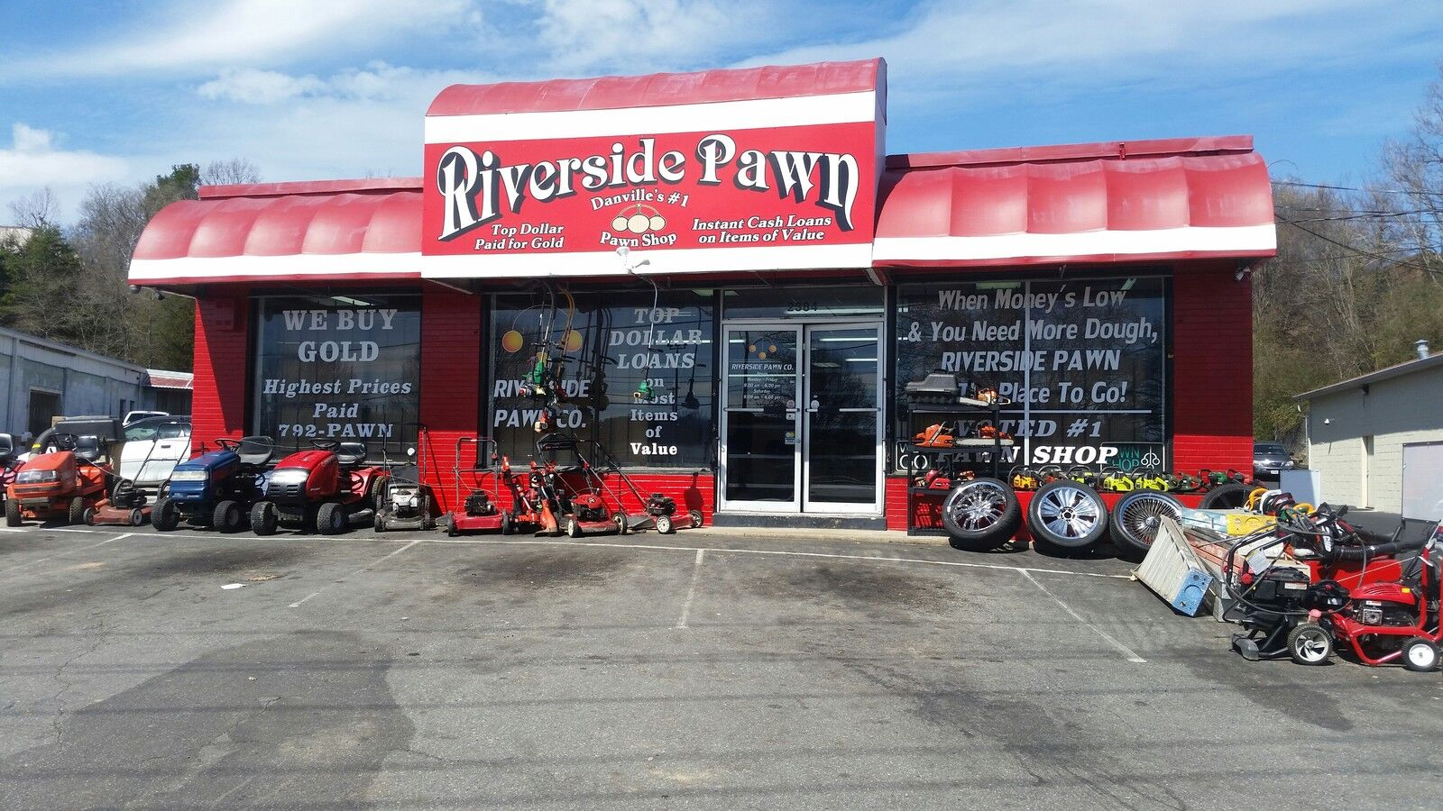 Riverside Pawn