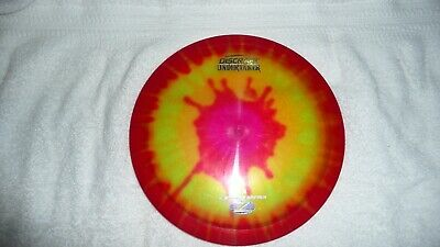 Discraft Elite-Z Tie-Dye Undertaker 173-174g disc golf driver (Fly Dye Disc Golf Driver)