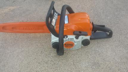 Stihl miniboss Ms170 chainsaw
