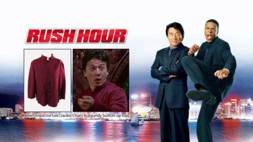 Rush Hour - Jackie Chan / Movie Screen Test/Worn Costumes / COA