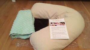 Baby Buddy Nursing pillow with 2 cases