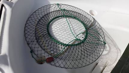 CRAB NETS WITH WIRE BASE - ONLY $ 10.00 EACH