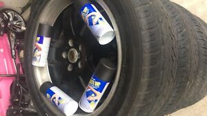 $20 plasti dip can Aersol spray can: black, red, white