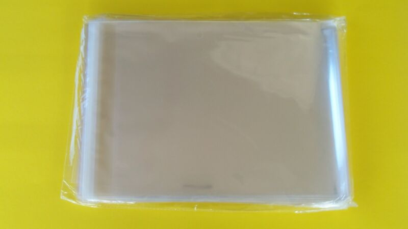 """100 Sleeves Magazine Plastic Protectors Resealable Storage Bags 8 3/4"""" x 11 1/4"""""""