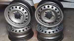 Set of 4 Hilux steel rims 14x5.5 $40 O.N.O Regents Park Logan Area Preview