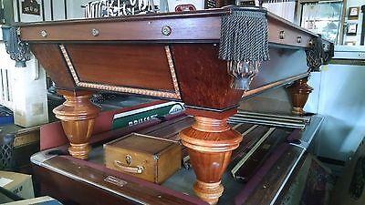 "Antique Brunswick  Redwood Table "" Narragansett """