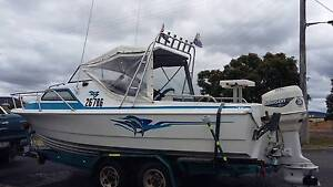 20 foot 150hp Johnson Avoca Northern Midlands Preview