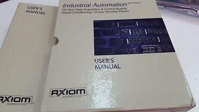 Axiom Ax5830 Ps Bus Data Aquisition And Control Board