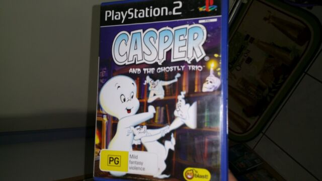 Casper and The Ghostly Trio PLAYSTATION 2 PS2 (COMPLETE) -FREE POST