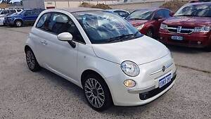 2010 Fiat 500c Convertible Auto 51kms Books (Very Tidy) Wangara Wanneroo Area Preview