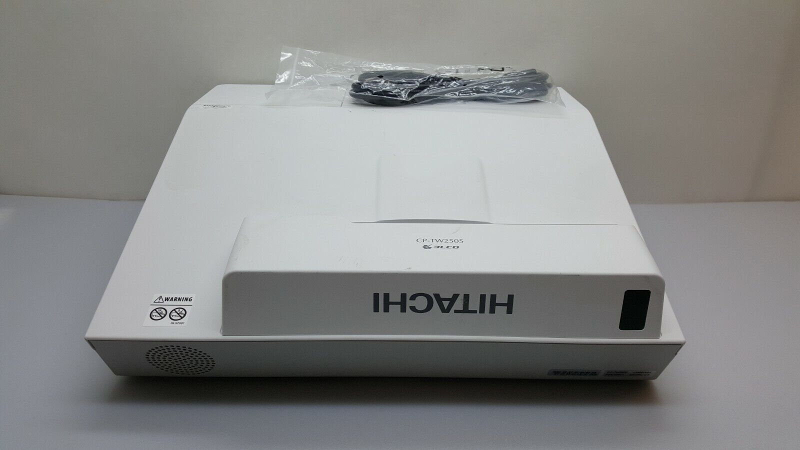 Hitachi CP-TW2505 Ultra Short Throw 3LCD Projector 2700 LUME