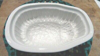 Vintage Ironstone Pudding / Jello Mold Pineapple Design