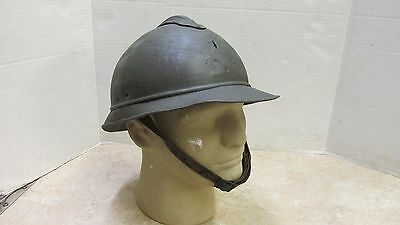 ORIGINAL FRENCH WW1 M15 ADRIAN HELMET