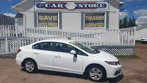 2013 Honda Civic LX HEATED SEATS BLUETOOTH VOICE ASSIST