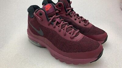 Nike Mens Size 8 Air Max Invigor Mid Red Athletic Basketball Shoes