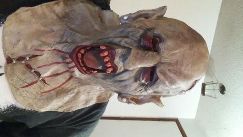 Adult Vampire Zombie Halloween Rubber Mask Seasonal Visions international