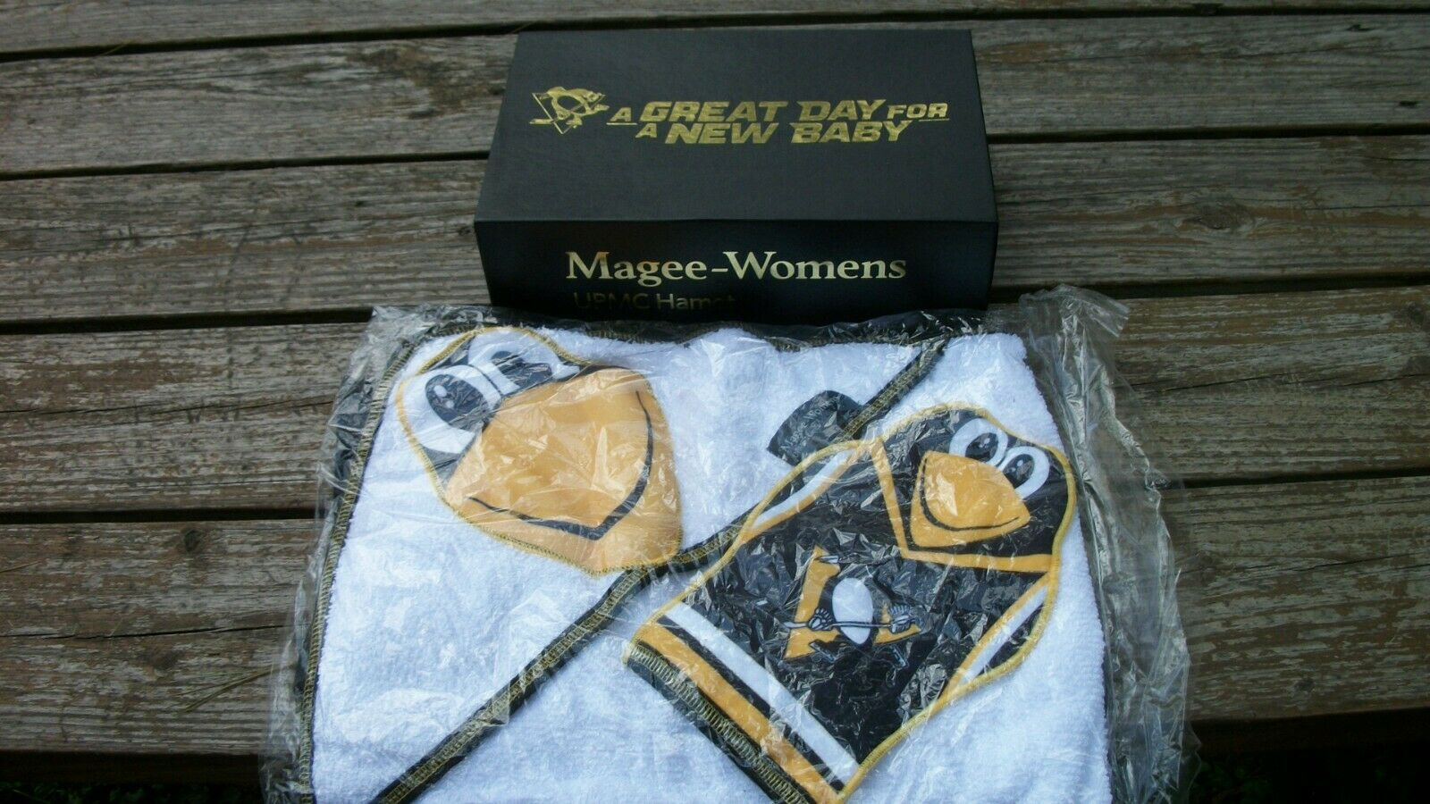 Great Day for a New Baby Magee-Womens UPMC Hamot Penguins To