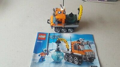 Lego City Arctic Ice Crawler - 60033 - 100% Complete With Instructions