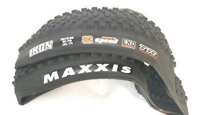 Maxxis Ikon 29 X 2.35 3C EXO Tubeless Ready Tire NEW Maxx speed TR White Letters