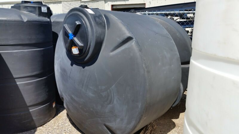 550 Gal.Rain Water Harvesting Collecting Tanks  Norwesco