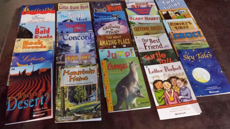 Harcourt Advanced Level Reading & ELL Books Grade 3 lot of 60