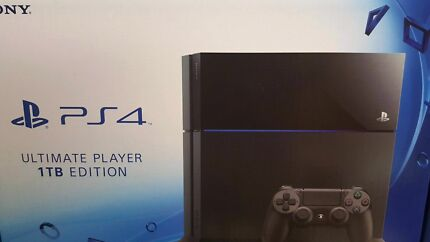 Playstation 4 PS4 Ultimate 1 terabyte and games  Eight Mile Plains Brisbane South West Preview