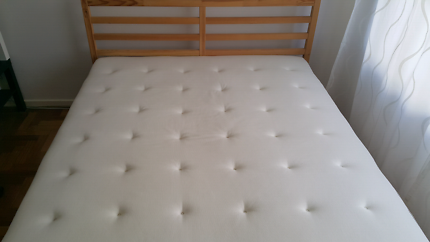 Ikea complete bed queen size