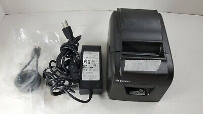 Par Network Thermal Receipt Printer A001 Pos M3876-03 W Usb Cable Ac Adapter