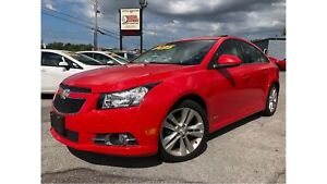 2014 Chevrolet Cruze RS 2LT LEATHER SUNROOF NAVIGATION FROM TELE