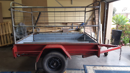 7x5 ft cage trailer